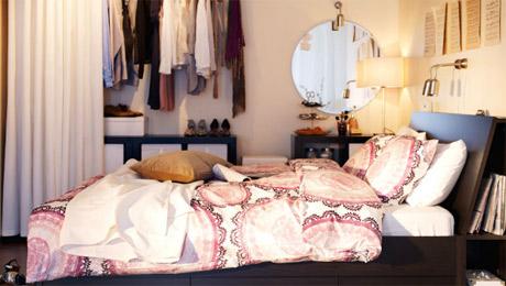 宜家家居客厅布置——卧室风格