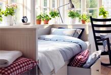 收纳型小卧室