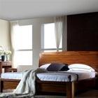 A家现代中式卧房三件套
