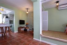50平一室老公房绿色翻身 空间规划创两房