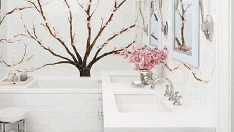 高颜值卫浴间设计 开启每天好心情