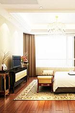 中式卧室电视墙图片