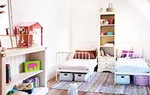 11个可爱双人儿童房 快乐齐分享