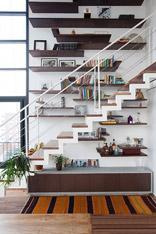 人类进步的阶梯 16个创意楼梯藏书法