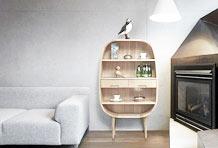 原木设计清新自然 让人心动的原木家具