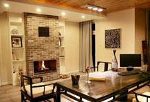 弄清壁炉分类 公寓也能添壁炉