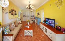 明黄色的文艺范儿 15万翻新90平米旧房