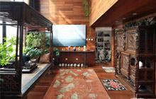 精致到骨子里 画卷般的中式古典风公寓
