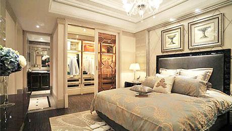 卧室衣帽间与时尚同眠