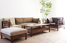 12款实木沙发图片 自然舒适全掌控