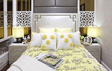 12款黄色床品搭配 搭出温馨卧室