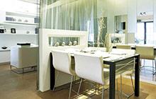 12个客厅餐厅玻璃隔断 实用空间分隔术