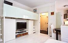 将收纳做到极致 29平米单身公寓装修