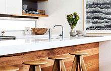 12个厨房吧台图片 隔而不断为家扩容