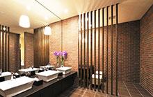 分隔空间有新招 12款卫生间镂空隔断设计