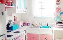 小清新厨房设计