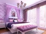 1、梦幻的紫色打造浪漫的城堡