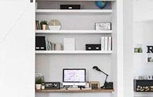 家居变身记 10个衣橱改造书房设计图
